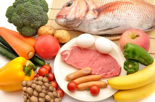 タンパク質豊富な食事