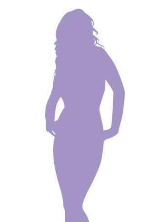 女性らしい体つき